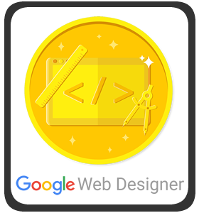 Google Web Designer Achievement