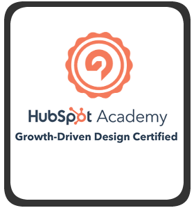 HubSpot Growth-Driven Design Certified