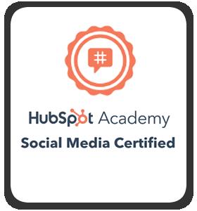 """Résultat de recherche d'images pour """"hubspot social media certification"""""""